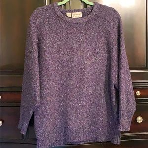 Tony Lambert colorful speckled sweater